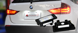 Racing Dash LED License Plate Lamp UNECE E4 R4 Proved