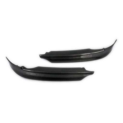 BMW E90 Front Lip Flippers Splitters For M-tech Bumper-Carbon Fiber