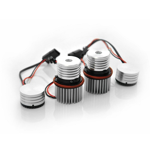 For BMW 10W LED Angel Eyes White Single bulb