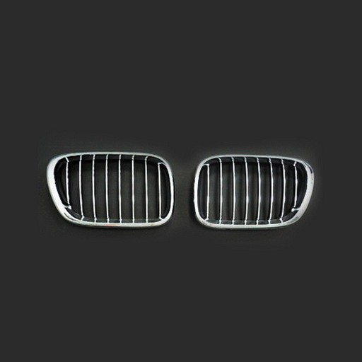 BMW E53 X5 99-03 Chrome Black Front Grille