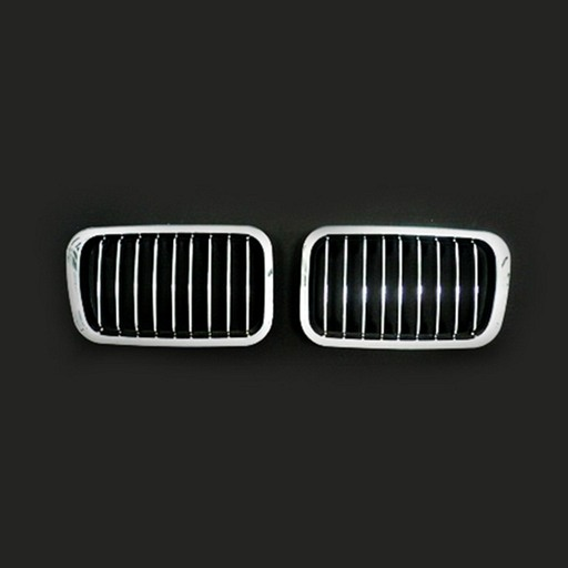 BMW E36 91-96 Chrome Silver Front Grille