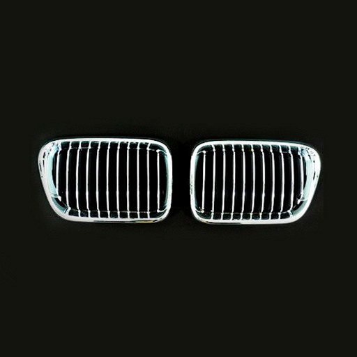 BMW E36 96-97 Chrome Silver Front Grille