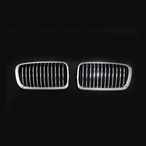 BMW E38 99-03 Chrome Silver Front Grille