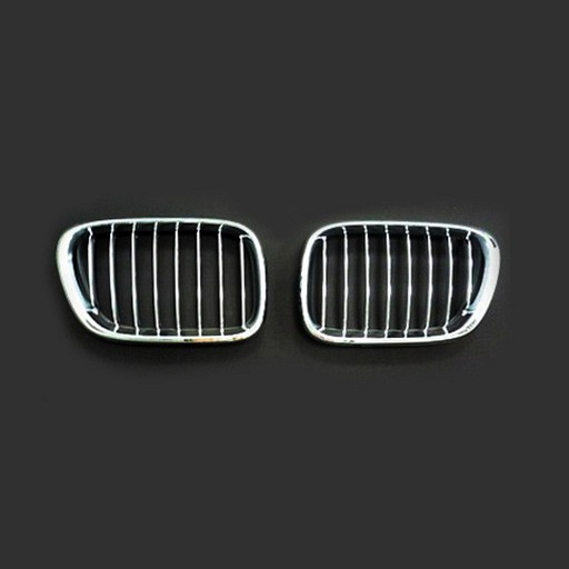 BMW E53 99-03 Chrome Silver Front Grille