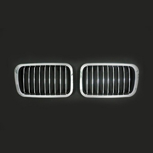 BMW E36 91-96 Chrome Black Front Grille