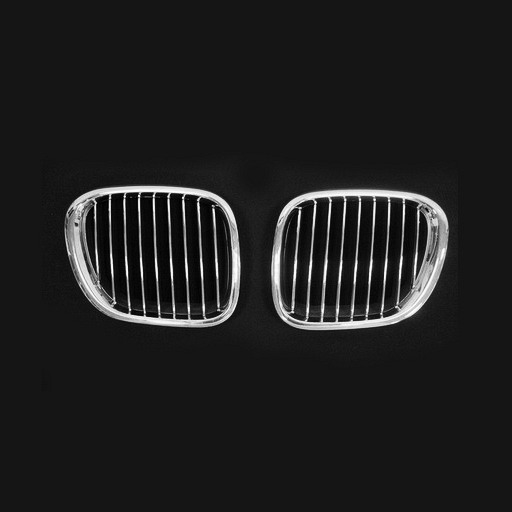 BMW Z3 (96-02) Chrome Silver Front Grille