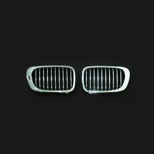 BMW E46 2D 99-03 Chrome Silver Front Grille