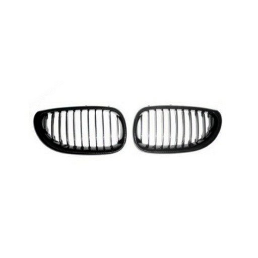 BMW E60 4D Chrome Black Front Grille