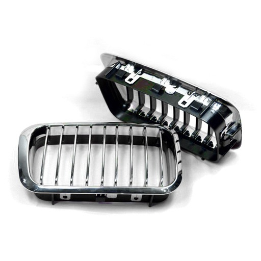 BMW E36 96-97 Chrome Black Front Grille