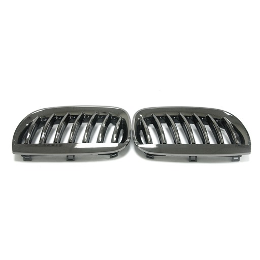 BMW X3 E83 04-06 Black Chrome Front Grille