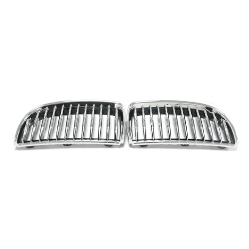 BMW E90 05-07 Chrome Black Front Grille