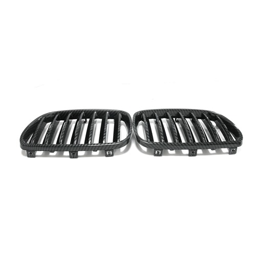 BMW X3 E83 07-10 Black Chrome Front Grille