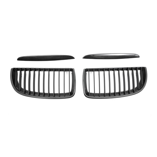 BMW E90-91 05-08 Pre-Facelift Carbon Look Front Grille