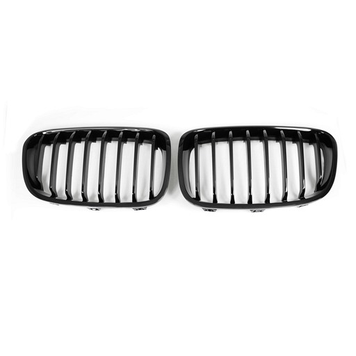 BMW F20 Shiny Black Front Grille