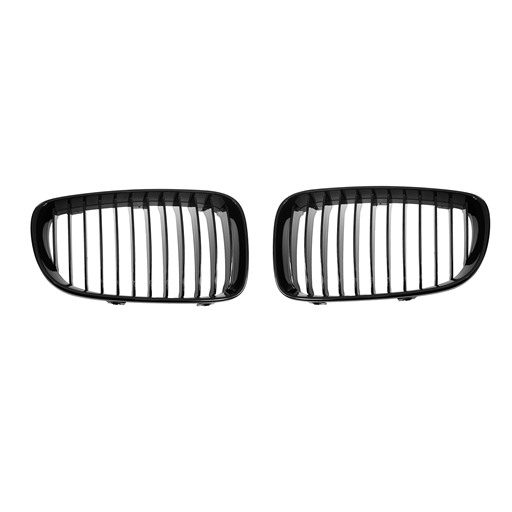 BMW E82 E87 Facelifted 07~ Shiny Black Front Grille