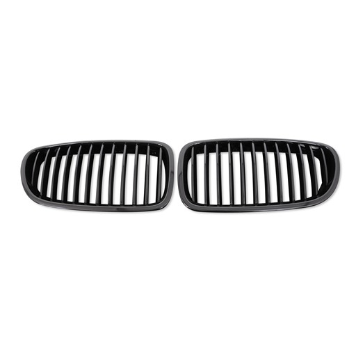 BMW F10 F11 Shiny Black Front Grille