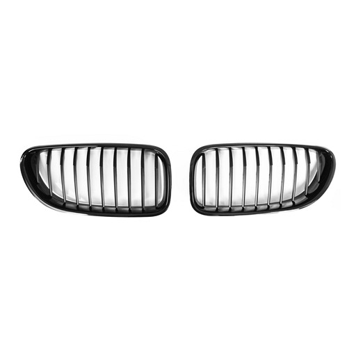 BMW F06 GC 12~ PerFormacne Shiny Black Rim Matte Black Base Front Grille