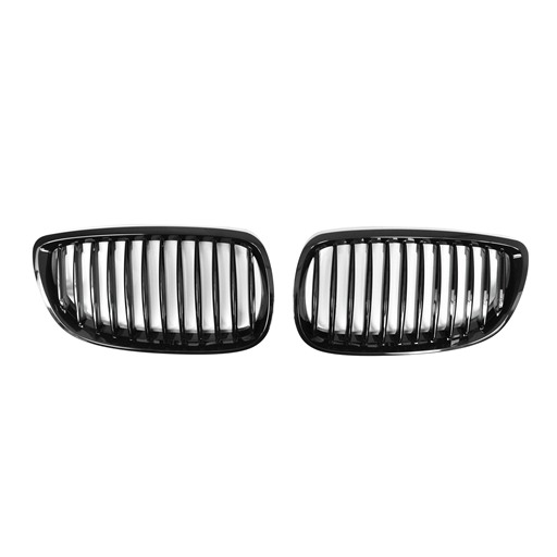 BMW E92 E93 07-10 Shiny Black Front Grille