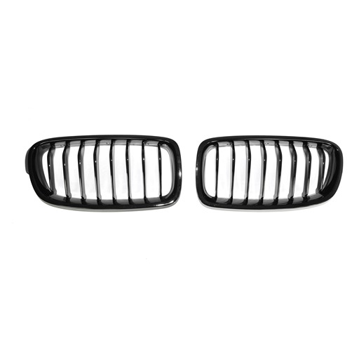 BMW F30 F31 Shiny Black Front Grille