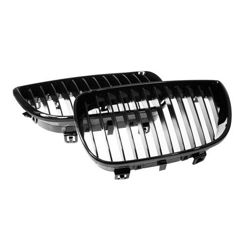 4407073B-1.jpg BMW E87 Shiny Black Front Grille