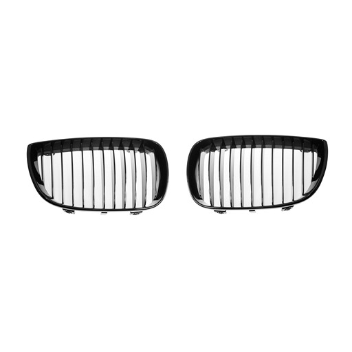 BMW E87 Shiny Black Front Grille