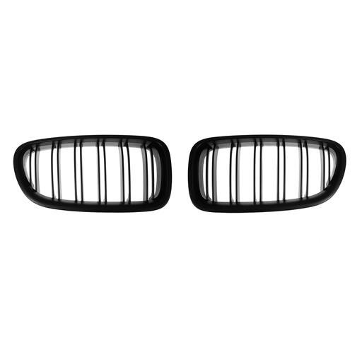 BMW F10 F11 M5 Look Matte Black Front Grille