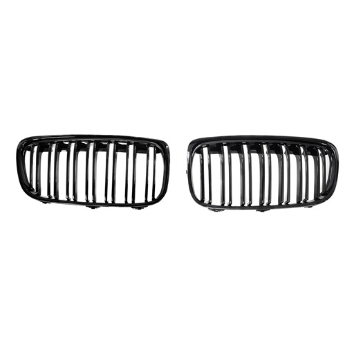 BMW F45 M Double slats Glossy Black Front Grille
