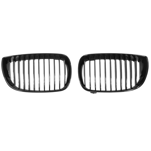 OE Look Glossy Black Kidney Grille For BMW E87 Pre-Facelift
