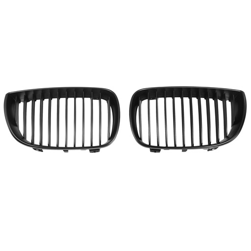 OE Look Mattle Black Kidney Grille For BMW E87 Pre-Facelift