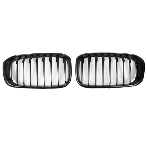 OE Look Mattle Black Kidney Grille For BMW F20 LCI
