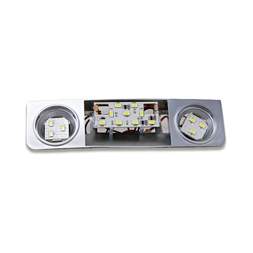Front Seat LED Reading Map Lights For Volkswagen Skoda Seat - Warm White