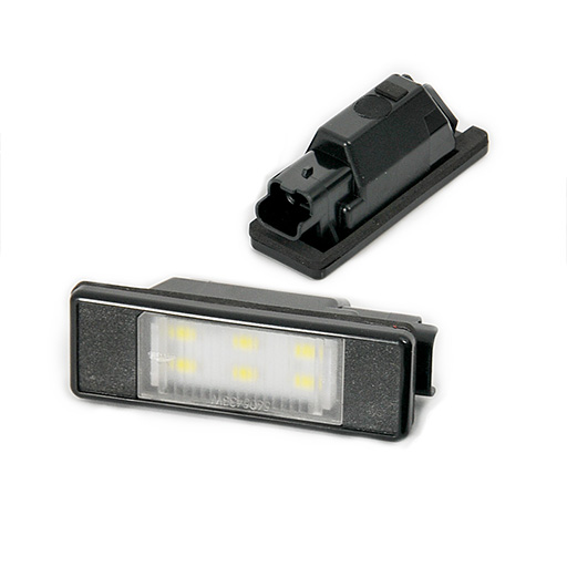 LED License Plate Lamp For Peugeot Citroen