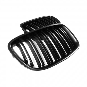 Double slats+Matte Black Front Grille for BMW F07 (5GT)