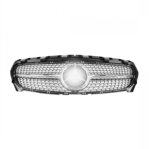 Front Grille for Benz W117 (CLA250 look) (2014~2016), Silver