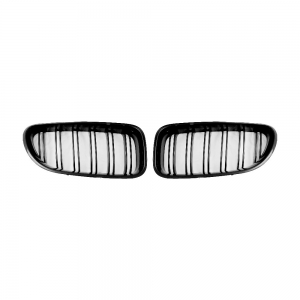 BMW F06 F12 F13 Double Slats + Shiny Black Front Grille