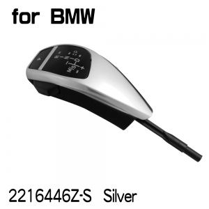 【none LED】Shift Knob for BMW E38/E39/E53(1999~03) A/T,LHD, Silver