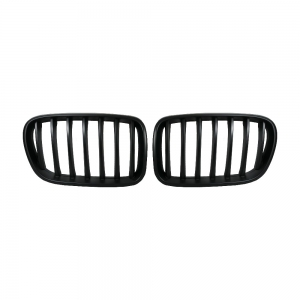 OE-Style Single Slat+Matte Black Front Grille for BMW X3(F25) Pre-Lci, ABS
