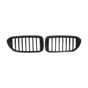OE-Style Single Slat+Matte Black Front Grille for BMW G30 G31 G38, ABS