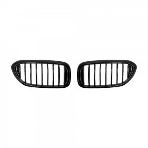 OE-Style Single Slat+Shiny Black Front Grille for BMW G30 G31 G38, ABS
