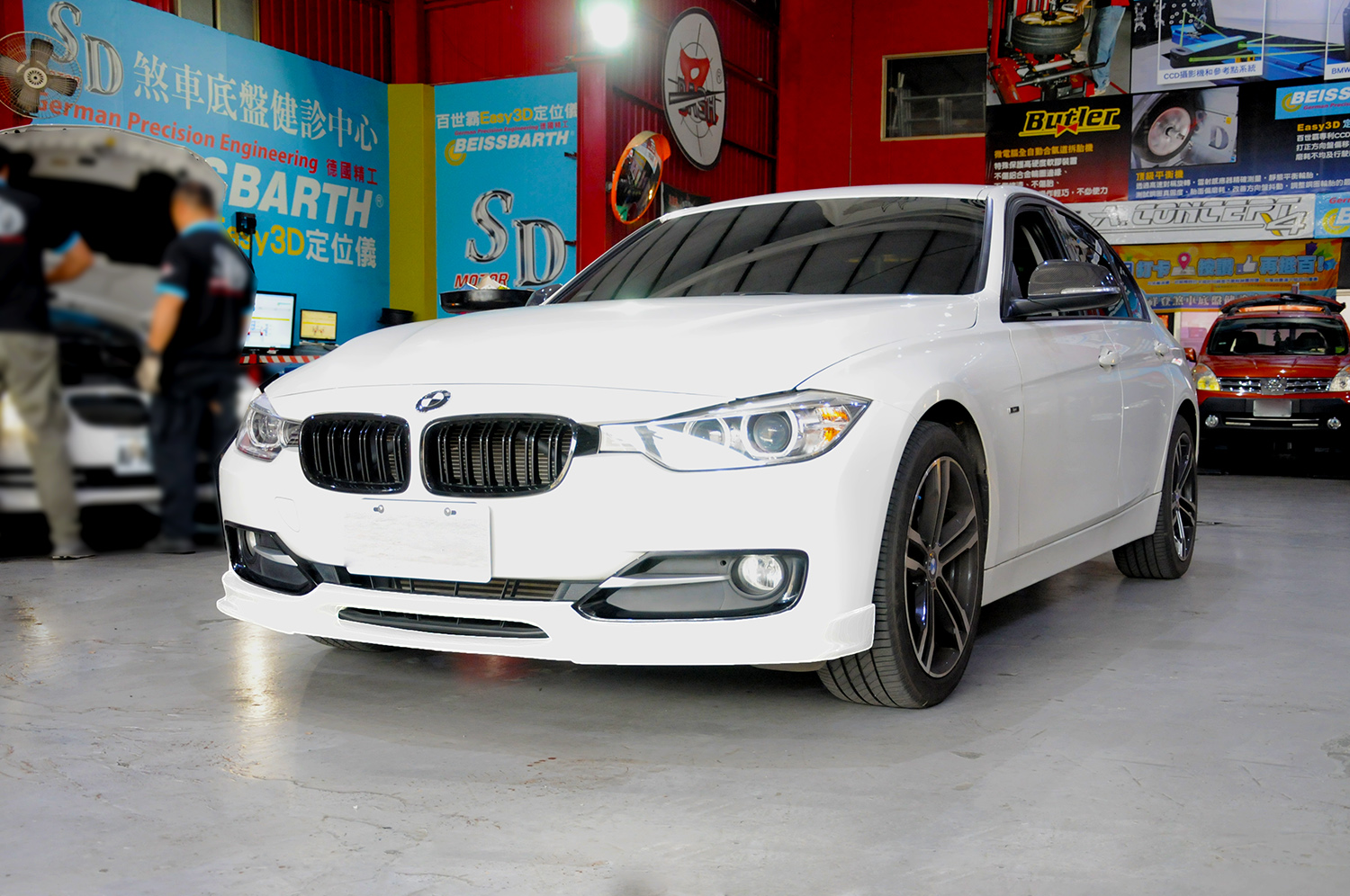 Bmw Stock Front Bumper 3d Style Front Lip Spoiler For