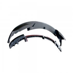 (M-Tech Front Bumper) P-Style (2PCS) Front Lip Spoiler for BMW F30 F31 F35, PP