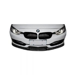 (M-Tech Front Bumper) 3D-Style Front Lip Spoiler for BMW F30 F31 F35, FRP+CF