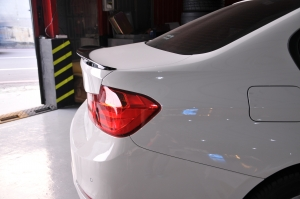 Rear Spoiler for BMW F30 Performance, ABS, (Primed)