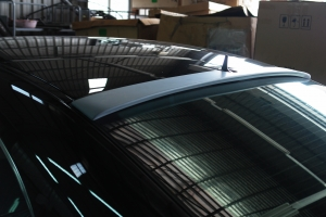 Rear Roof Spoiler for Benz W219 (2004~), ABS+Primed