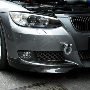 Front Lip Spoiler for BMW E92 OEM-Style, CF