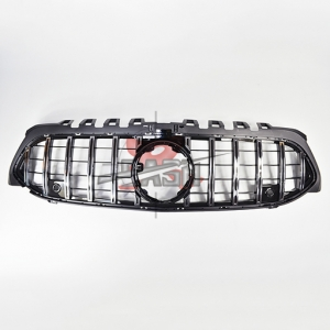 FOR MERCEDES W177 A CLASS  19- GT GRILLE SILVER GRILLE