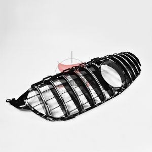 For Merecedes  W205 C CLASS 15-18 GT SLIVER GRILL