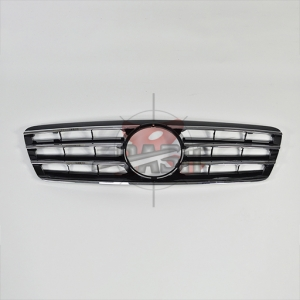 For Mercedes C CLASS W203CL SHINY BLACK GRILLE 00-07