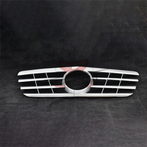 For Mercedes E ECLASS W210CLSHINY BLACK GRILLE  00-02