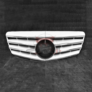For Mercedes W211CL SHINY SILVER GRILLE